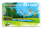 2020 Big Summer Golf Card Regular Season Price