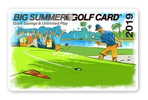 2019 Big Summer Golf Card Regular Season Price